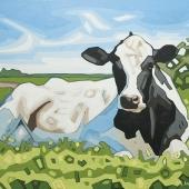 """Daisy the Cow 14""""x11"""""""